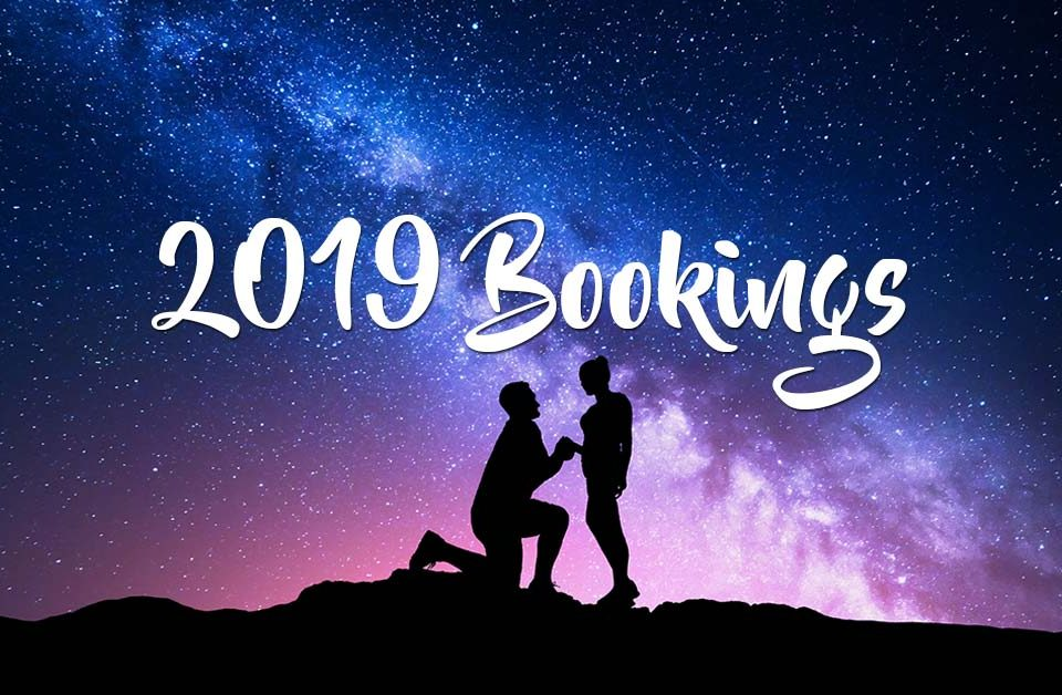 Sunshine Coast Mobile Wedding Hairdresser Bookings for 2019